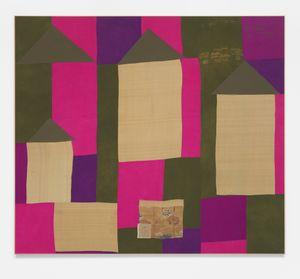 Lawrence Calver by Lawrence Calver contemporary artwork textile