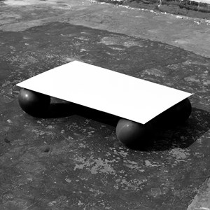 A plane without flat surface No.1 by Wu Ding contemporary artwork