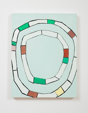 Wheel Inside a Wheel by Rohan Hartley Mills contemporary artwork