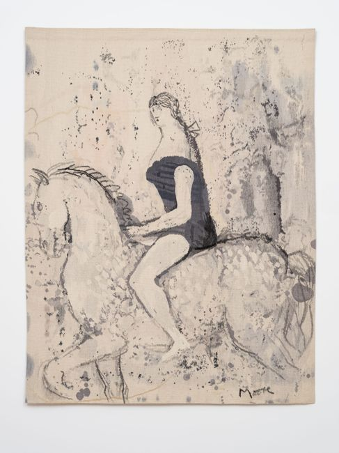 Circus Rider by Henry Moore contemporary artwork