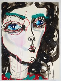 must get this right by Del Kathryn Barton contemporary artwork mixed media