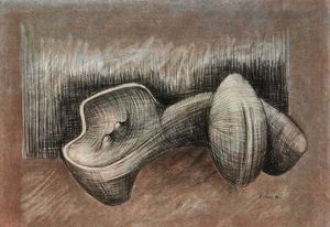 Studies for Sculpture: Reclining Female Form by Sydney Kumalo contemporary artwork