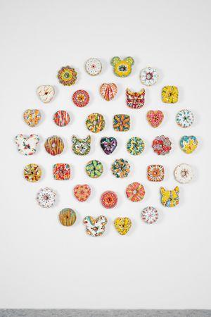 [1] Donut Fear by Jae Yong Kim contemporary artwork sculpture