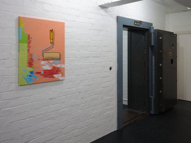 Exhibition view: Ian Scott, Painting, Michael Lett, Auckland (11 March–10 April 2021). Courtesy Michael Lett.