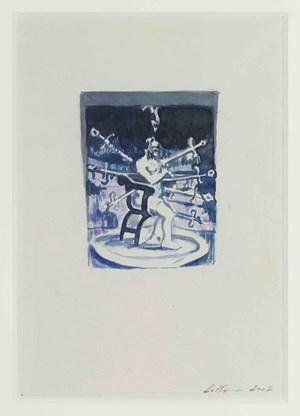 The Spiritual Exercises 1 by Luc Tuymans contemporary artwork