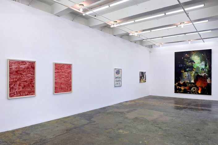 Exhibition view: Group Exhibition, Spirited Densities, Thomas Erben Gallery, New York (28 June–27 July 2018). Courtesy Thomas Erben Gallery.