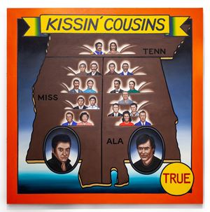 Kissin' Cousins by Roger Brown contemporary artwork