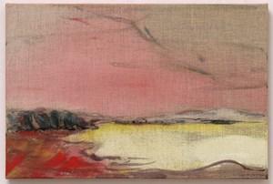 Pink Cloud by Leiko Ikemura contemporary artwork