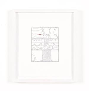 Closer than You Thought (traced and painted), First by Louise Lawler contemporary artwork