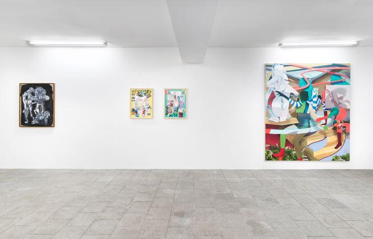 Exhibition view: Seven-Up, Capitain Petzel, Berlin (24 October -7 November, 2020) © the artists and Capitain Petzel, Berlin. Ph: Jens Ziehe