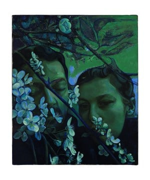 In Adancul Parcurilor Mele (In The Depth Of My Gardens) by Victor Man contemporary artwork