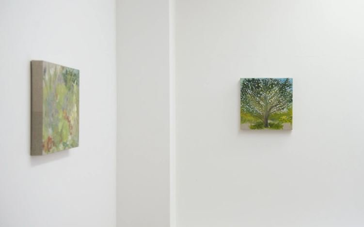 Exhibition view: Star Gossage, Noho Mai, Ki Te Ahau / Sit With Me, Page Galleries, Wellington (10 December 2020–30 January 2021). Courtesy Page Galleries.
