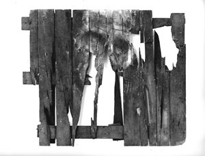 Pallet by Peter Kennard contemporary artwork