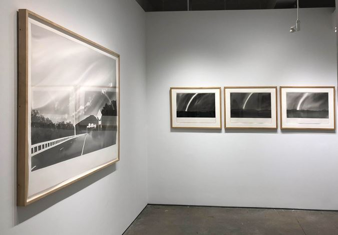 Exhibition view: Alfred Leslie, Our Luminous Paradise, Bruce Silverstein, New York (10 January–9 March 2019). Courtesy Bruce Silverstein.