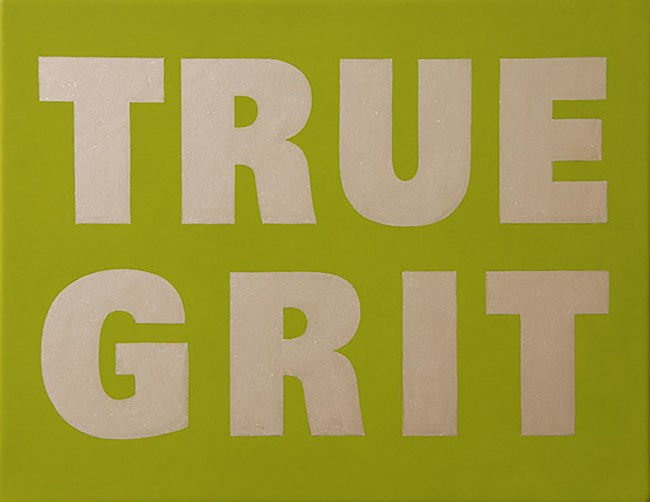 True Grit by Mary-Louise Browne contemporary artwork