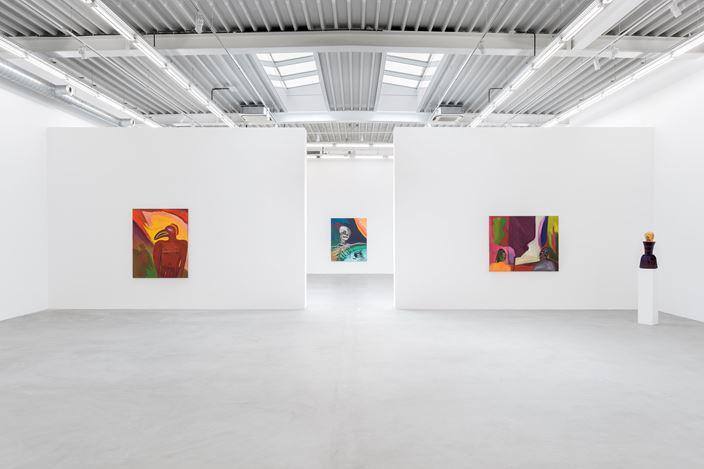 Exhibition view: Marcus Jahmal, Solid Ghosts, Almine Rech Gallery, Brussels (18 April–19 May 2018).© Marcus Jahmal. Courtesy the Artist and Almine Rech Gallery. Photo: Hugard & Vanoverschelde Photography.