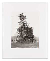 Shade Coal Co., Goodspring Mountains, Schuylkill County, USA by Bernd & Hilla Becher contemporary artwork photography
