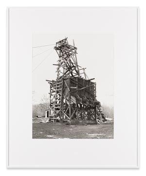 Shade Coal Co., Goodspring Mountains, Schuylkill County, USA by Bernd & Hilla Becher contemporary artwork