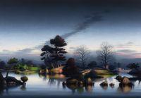 Katsura Night by Alexander McKenzie contemporary artwork painting