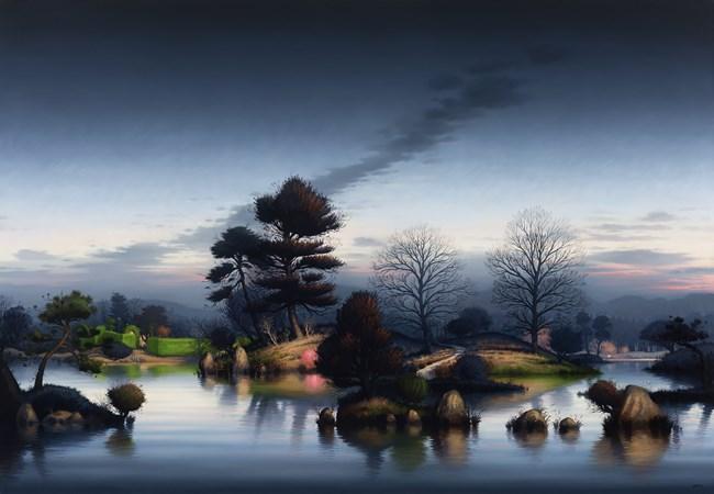 Katsura Night by Alexander McKenzie contemporary artwork
