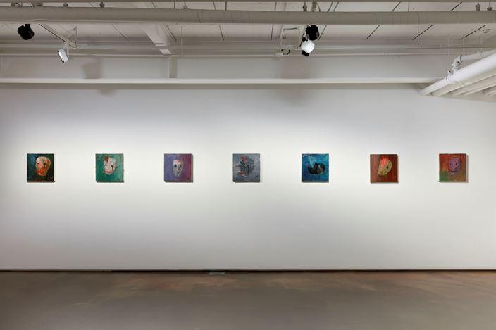 Exhibition view: Ahn Chang Hong, Heart of the Artist, ARARIO GALLERY SEOUL | SAMCHEONG, Seoul (2 May–30 June 2019). CourtesyARARIO GALLERY.