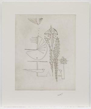 The Group by Ibrahim El-Salahi contemporary artwork