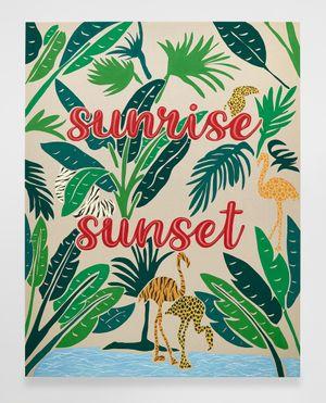 Untitled (Sunrise Sunset) by Joel Mesler contemporary artwork