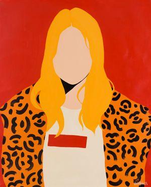 Kate Moss by Coco Davez contemporary artwork