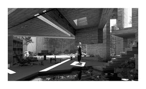 Room (10) by Hans Op de Beeck contemporary artwork