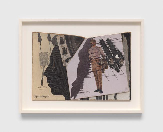 Untitled (Lynda Benglis Flyswatter) by Ray Johnson contemporary artwork
