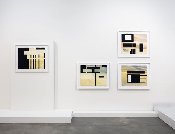Exhibition view: Andrea Zittel, Works on Paper, Sprüth Magers, Berlin (27 November 2020–13 February 2021). © Andrea Zittel. Courtesy the artist and Sprüth Magers. Photo: Timo Ohler.