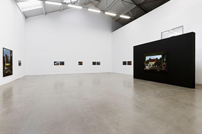 Titus Schade,ALTSTADT,2019, Installation view, Galerie EIGEN + ART Leipzig, photo: Uwe Walter, Berlin