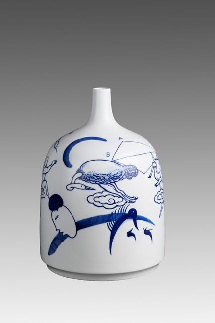 Blue LIke Sky 8 by Guan Wei contemporary artwork