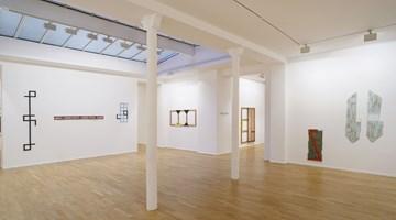 Contemporary art exhibition, Daniel Dezeuze, Sous un certain angle at Templon, 30 rue Beaubourg, Paris, France