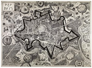 Map of Days by Grayson Perry contemporary artwork