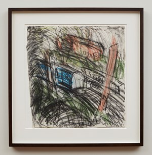 Here Comes The Diesel by Leon Kossoff contemporary artwork