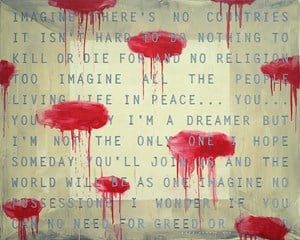 Imagine #3 by Agus Suwage contemporary artwork