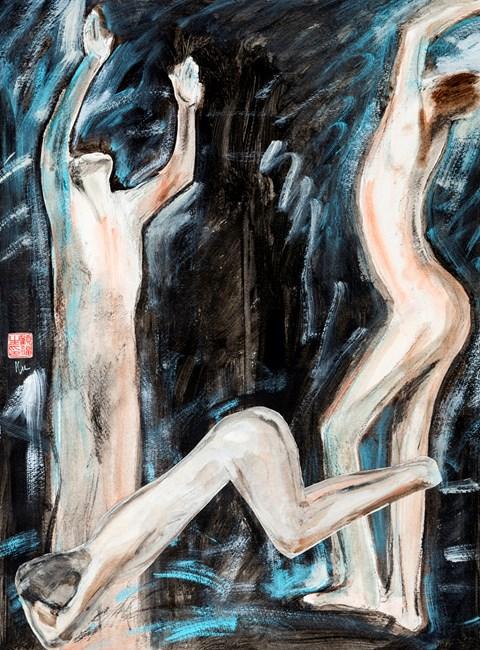 Hallelujah! The king Is Dead 萬歲!國王已死 by Gu Fusheng contemporary artwork