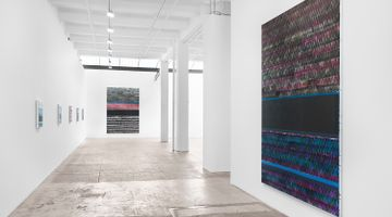 Contemporary art exhibition, Juan Uslé, HORIZONTAL LIGHT at Galerie Lelong & Co. New York