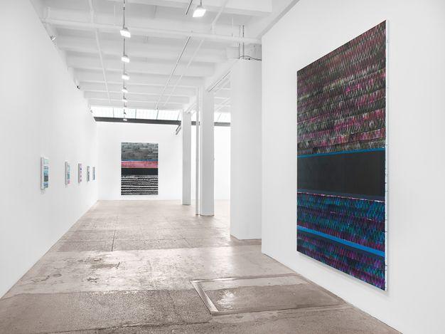 Juan Uslé, Notes on SQR, (2020). Mixed media on paper. 56 x 71cm. © Juan Uslé. Courtesy Galerie Lelong & Co.