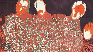 Contemporary art exhibition, Portia Zvavahera, Portia Zvavahera at David Zwirner, London
