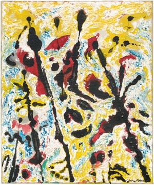 Moons Vibrations by Jackson Pollock contemporary artwork