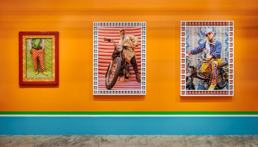 Exhibition view: Hassan Hajjaj,A Taste of Things to Come, Barakat Contemporary, Seoul (5 August–27 September 2020). Courtesy Barakat Contemporary
