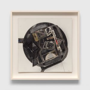 Untitled (Burroughs) by Ray Johnson contemporary artwork