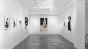 Contemporary art exhibition, Iris Schomaker, in secret kept/ in silence sealed at Huxley-Parlour, London, United Kingdom