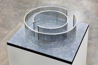 Untitled by Dan Graham contemporary artwork sculpture