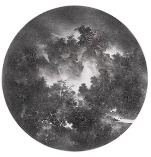 The Twenty-four Solar Terms No.5 《2010二十四節氣系列之五》 by Cao Xiaoyang contemporary artwork