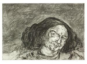 Gesicht II by Marwan contemporary artwork print