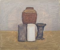 Still Life by Giorgio Morandi contemporary artwork painting, works on paper