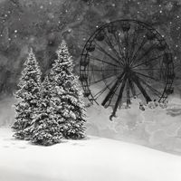 The Ferris Wheel by Hans Op de Beeck contemporary artwork painting, works on paper